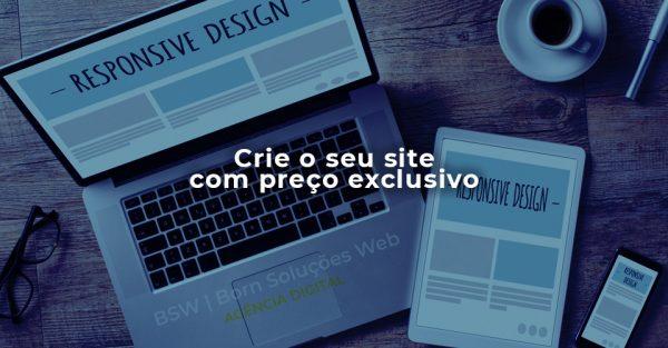 Criação de sites com preço exclusivo - oferta promocional mês das mulheres empreendedoras - BSW   Born Soluções Web